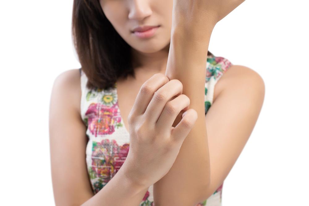 Symptom och behandling av svamp i huden